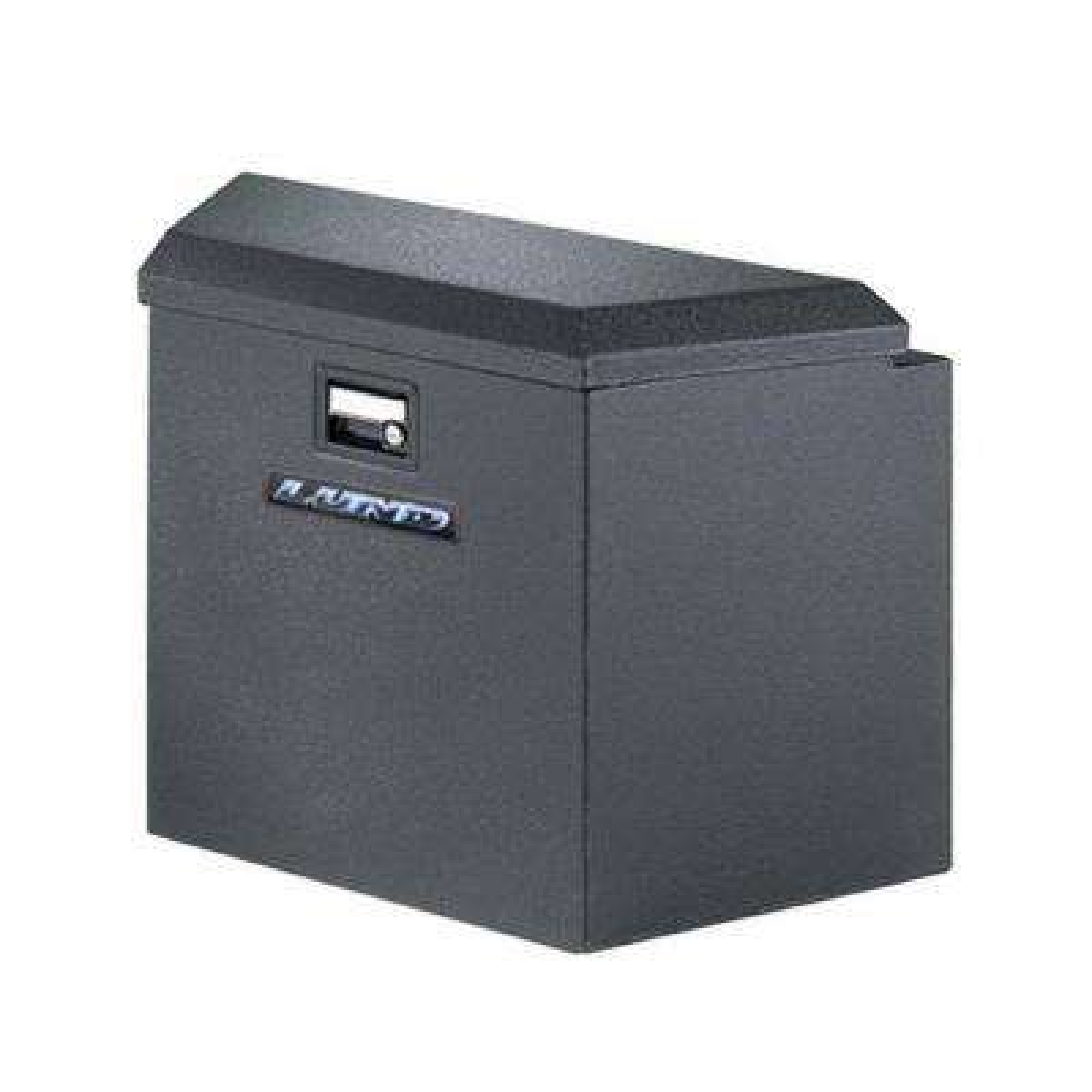 16 in. Steel Trailer Tongue Box, Black
