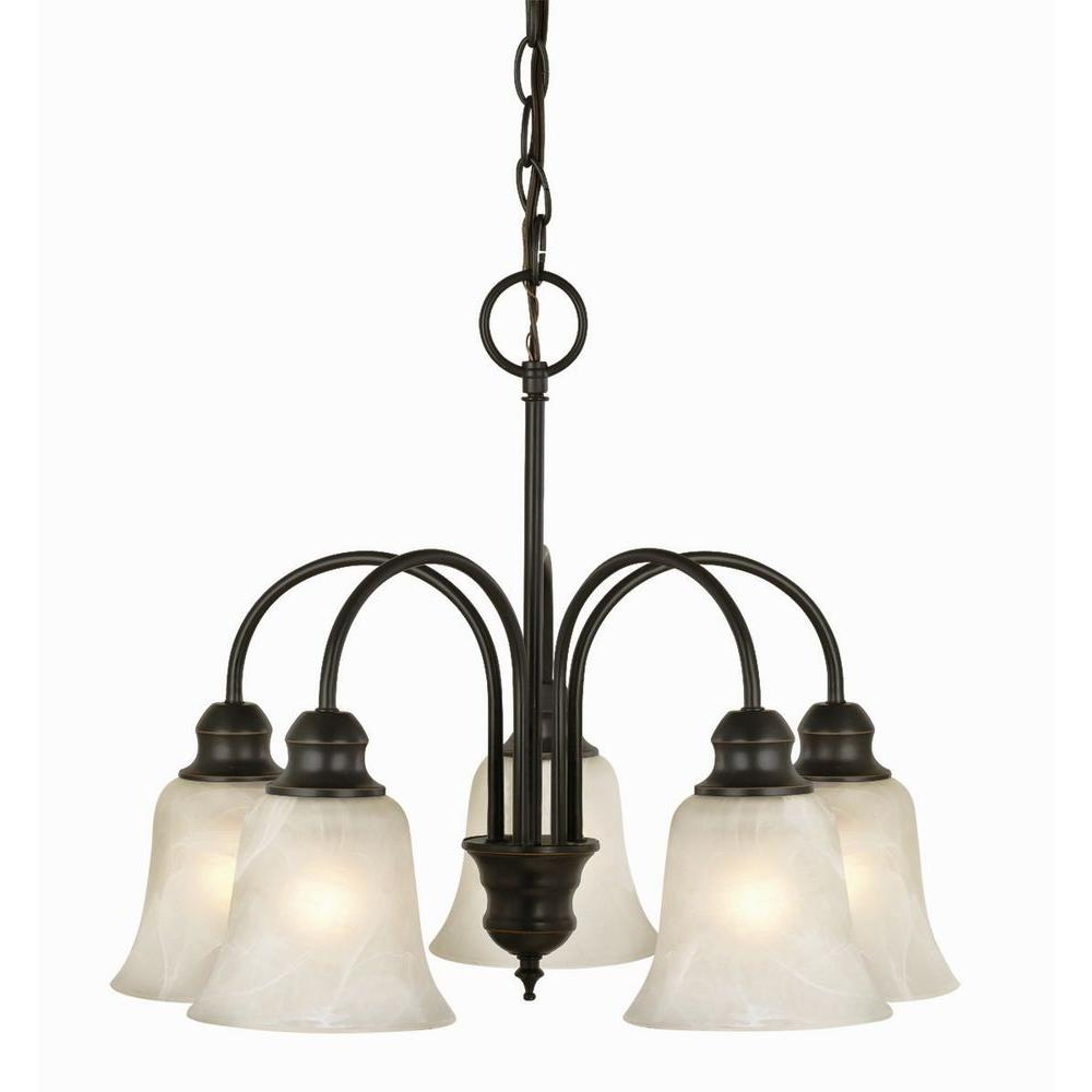 oil rubbed bronze chandelier design house ridgeway 5 light rubbed bronze chandelier 28615