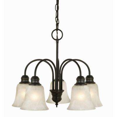 Ridgeway 5-Light Oil-Rubbed Bronze Chandelier