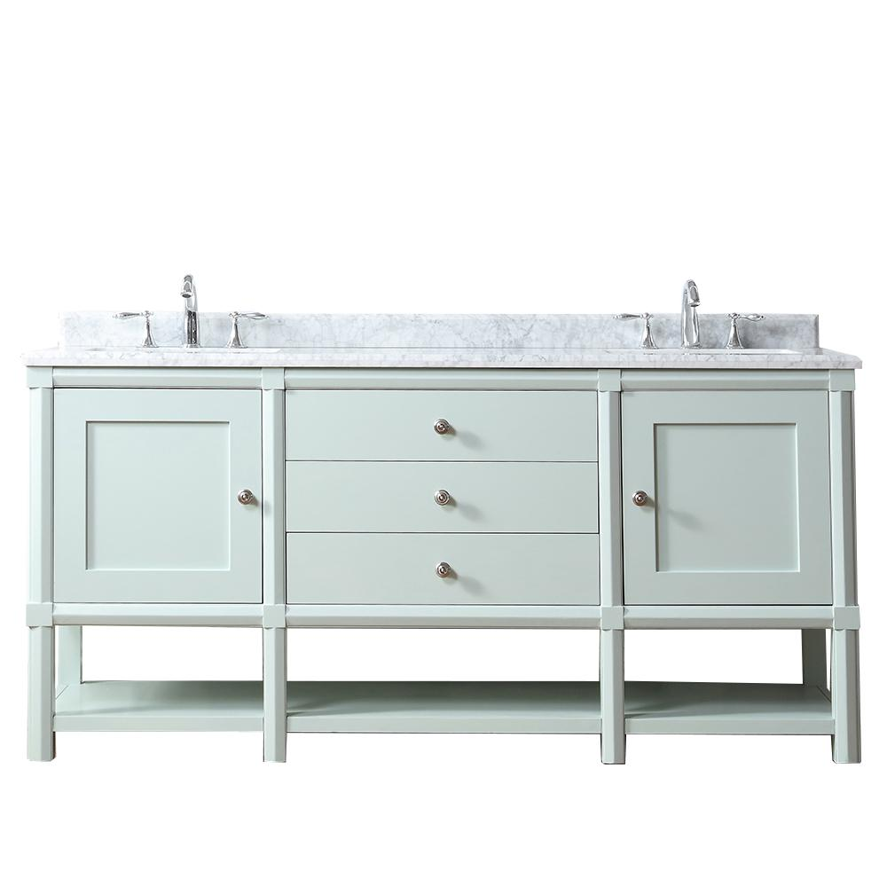 Martha Living Sutton 72 In W X 22 D Vanity Rainwater With