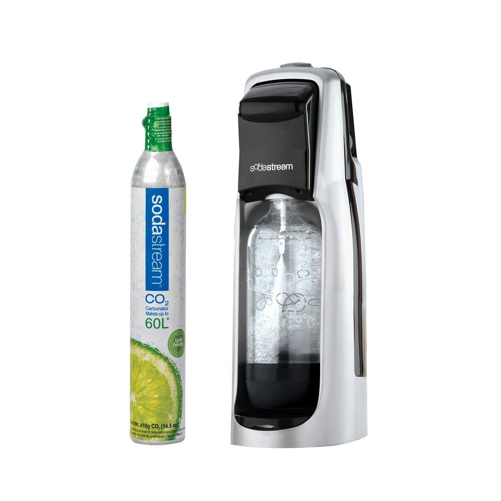 Sodastream Jet Starter Kit - Black and Silver