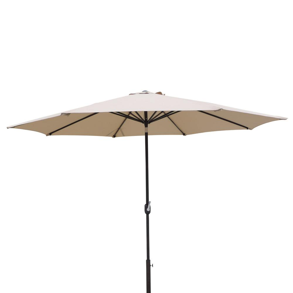 Calypso 11 ft. Market Umbrella with Adjustable Tilt, Weather-Resistant Olefin