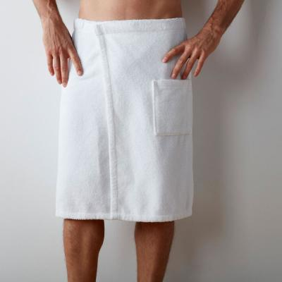 Sterling Supima Cotton Men's Bath Wrap