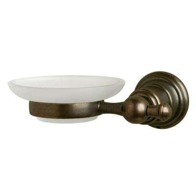 Estates Wall-Mounted Soap Dish in Heritage Bronze