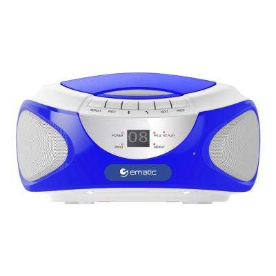 CD Boombox with Bluetooth and Speakerphone