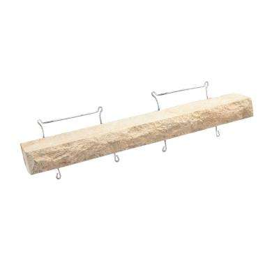 20 in. L x 3 in. W Cream Drip Ledge Flat Stone