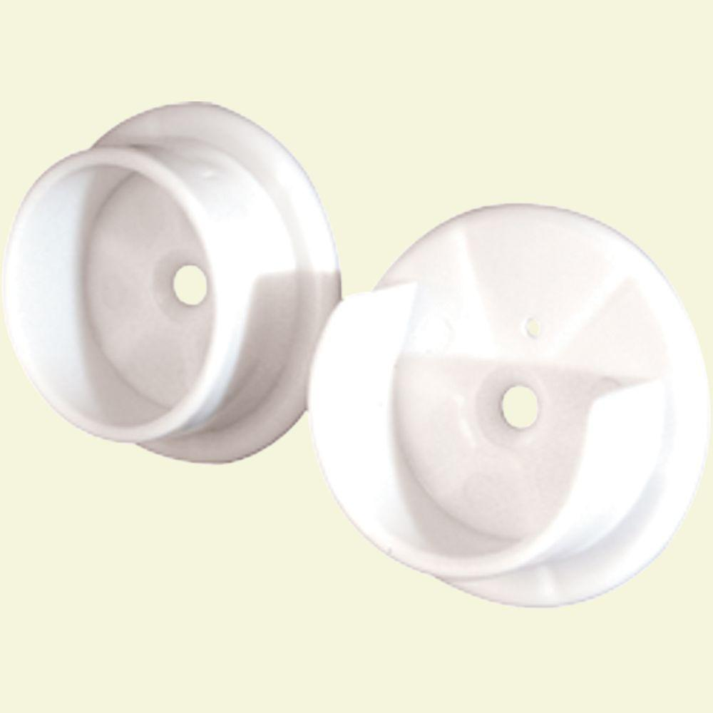 Prime-Line Closet Pole Sockets, 1-3/8 in., Plastic
