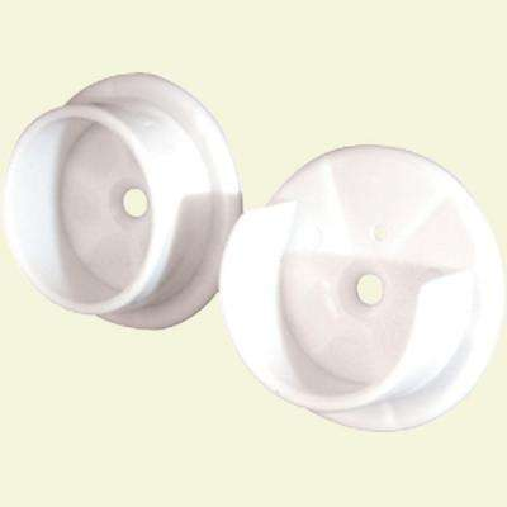 Closet Pole Sockets, 1-3/8 in., Plastic