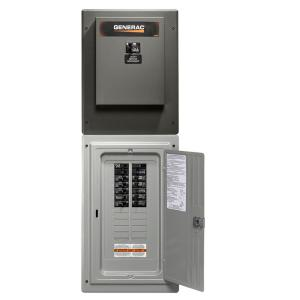 Click here to buy Generac 100 Amp 24-Circuit Load Center Service Entrance Rated Transfer Switch by Generac.