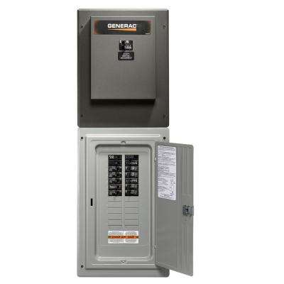 100 Amp 24-Circuit Load Center Service Entrance Rated Transfer Switch