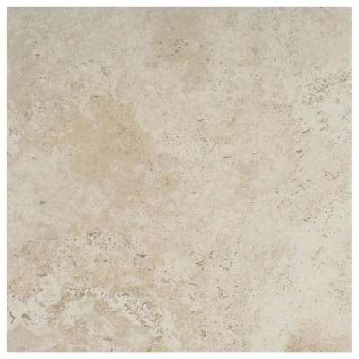 Castleview Beige 18 in. x 18 in. Porcelain Floor and Wall Tile (17.6 sq. ft. / case)