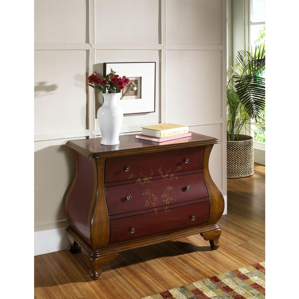 Pulaski Furniture Red Chest DS P The Home Depot