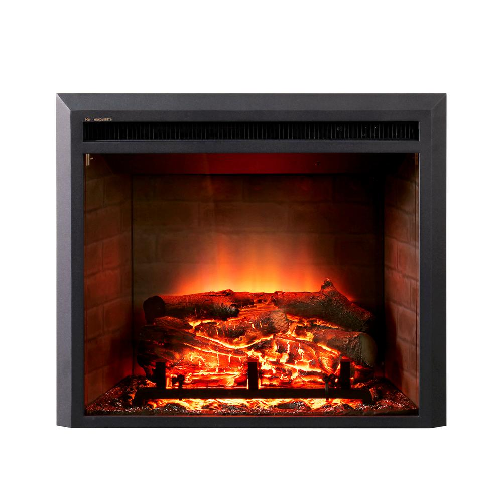 Dynasty Fireplaces 28 In Led Electric Fireplace Insert In Black