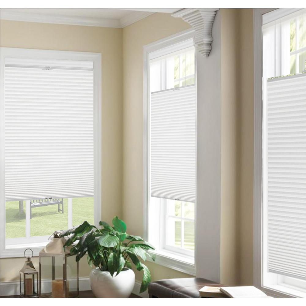 Top Down Bottom Up White Cordless Cellular Shade 29 In