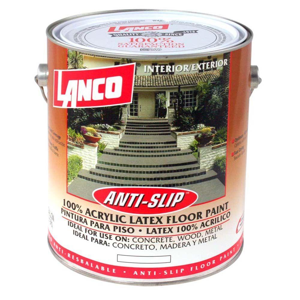 Lanco 1 Gal Cleo Anti Slip Acrylic Latex Floor Interior
