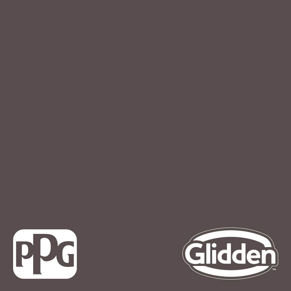 Glidden Premium 5 gal. PPG1007-7 Bark Flat Interior Latex Paint, Brown