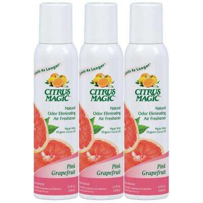 3 oz. Tropical Grapefruit All Natural Odor Eliminating Air Freshener Spray (3-Pack)