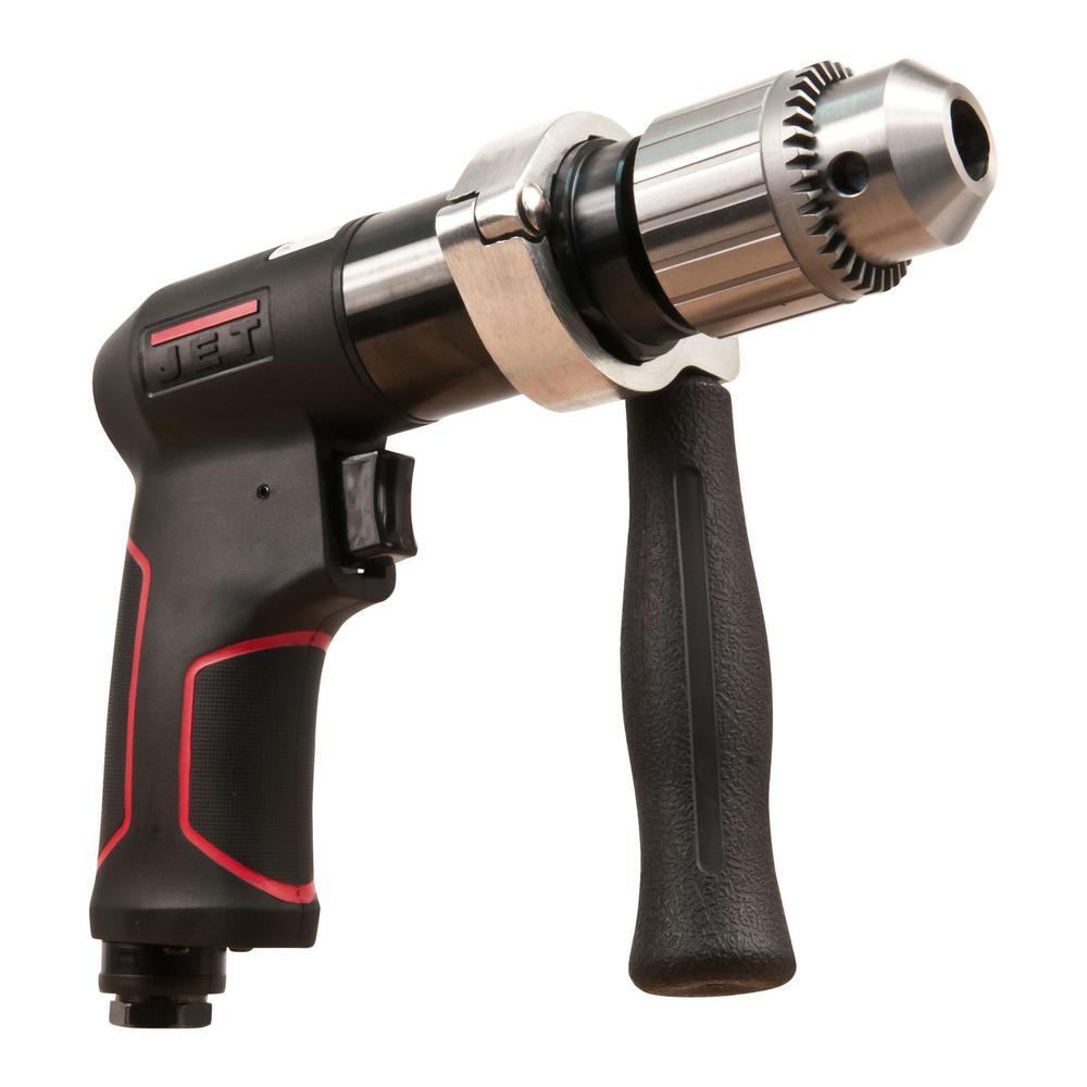 JET R12 JAT-621 1/2 in. Composite Reversible Air Drill