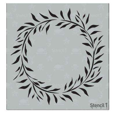 Wreath Eucalyptus Small Stencil