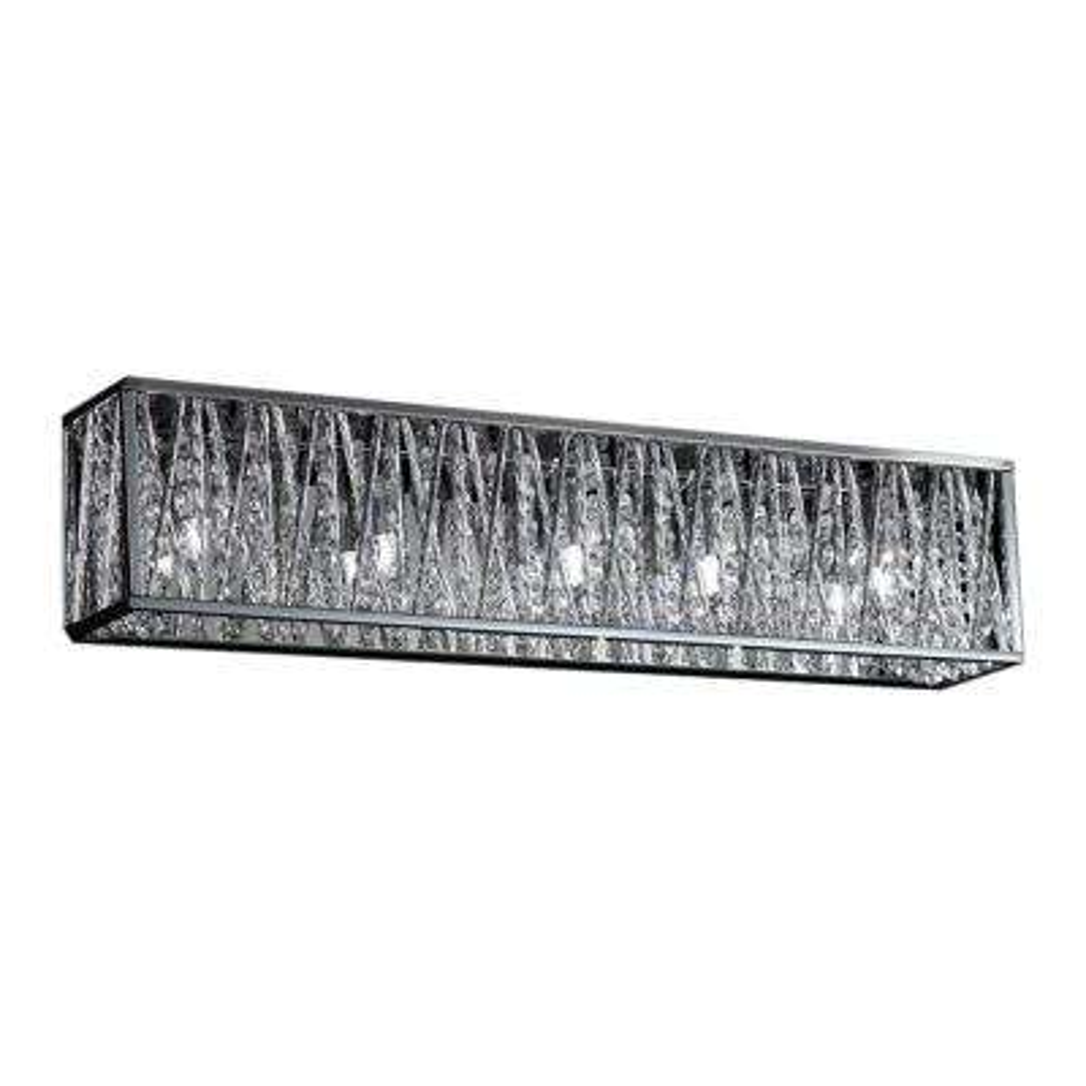 Lawrence 5-Light Chrome Halogen Bath Vanity Light