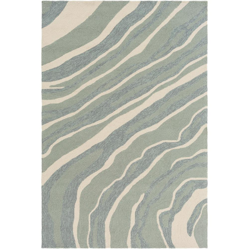 Navona Gray 5 ft. x 8 ft. Indoor/Outdoor Area Rug