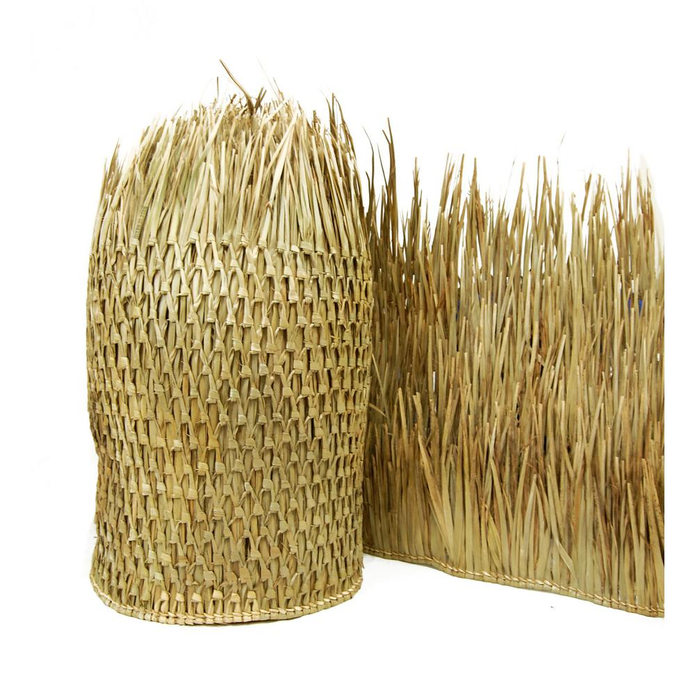 35 in. H x 60 ft. L Mexican Palm Thatch Runner