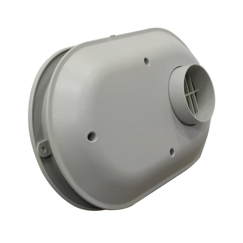 3 in. PVC Low Profile Termination Vent Kit
