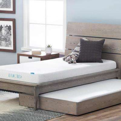 5 in. Twin Dual Layer Gel Memory Foam Mattress