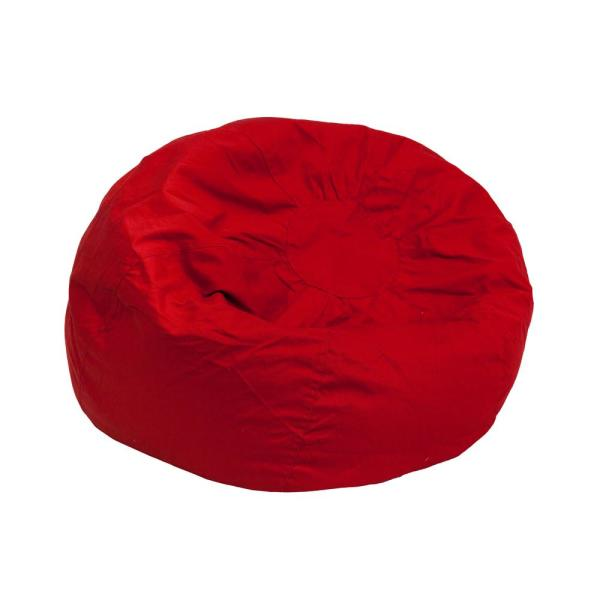 Fine Small Solid Red Kids Bean Bag Chair Creativecarmelina Interior Chair Design Creativecarmelinacom