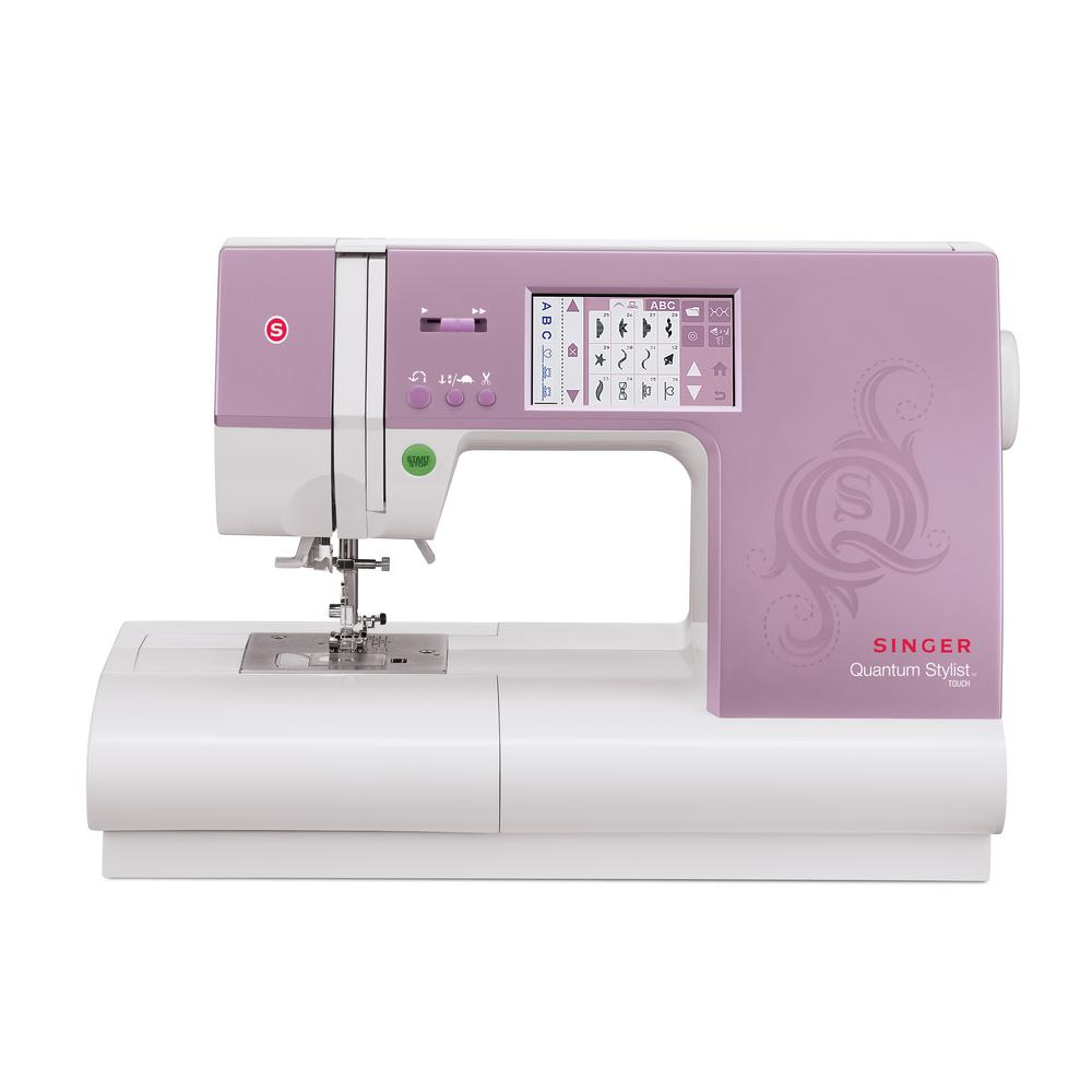 SINGER SEWING CO. Stylist Touch 90-Stitch Sewing Machine ...