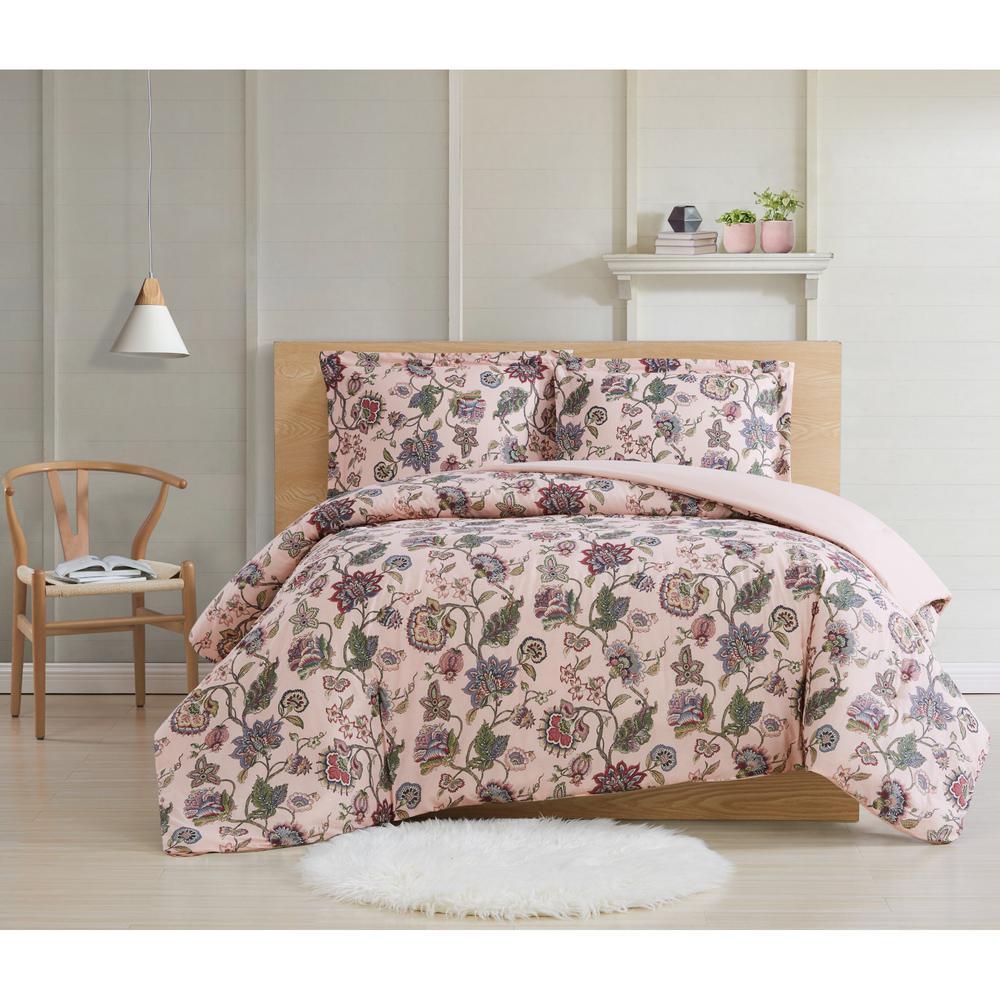 Ridgefield 3 Piece Multi Cotton Full/Queen Comforter Set