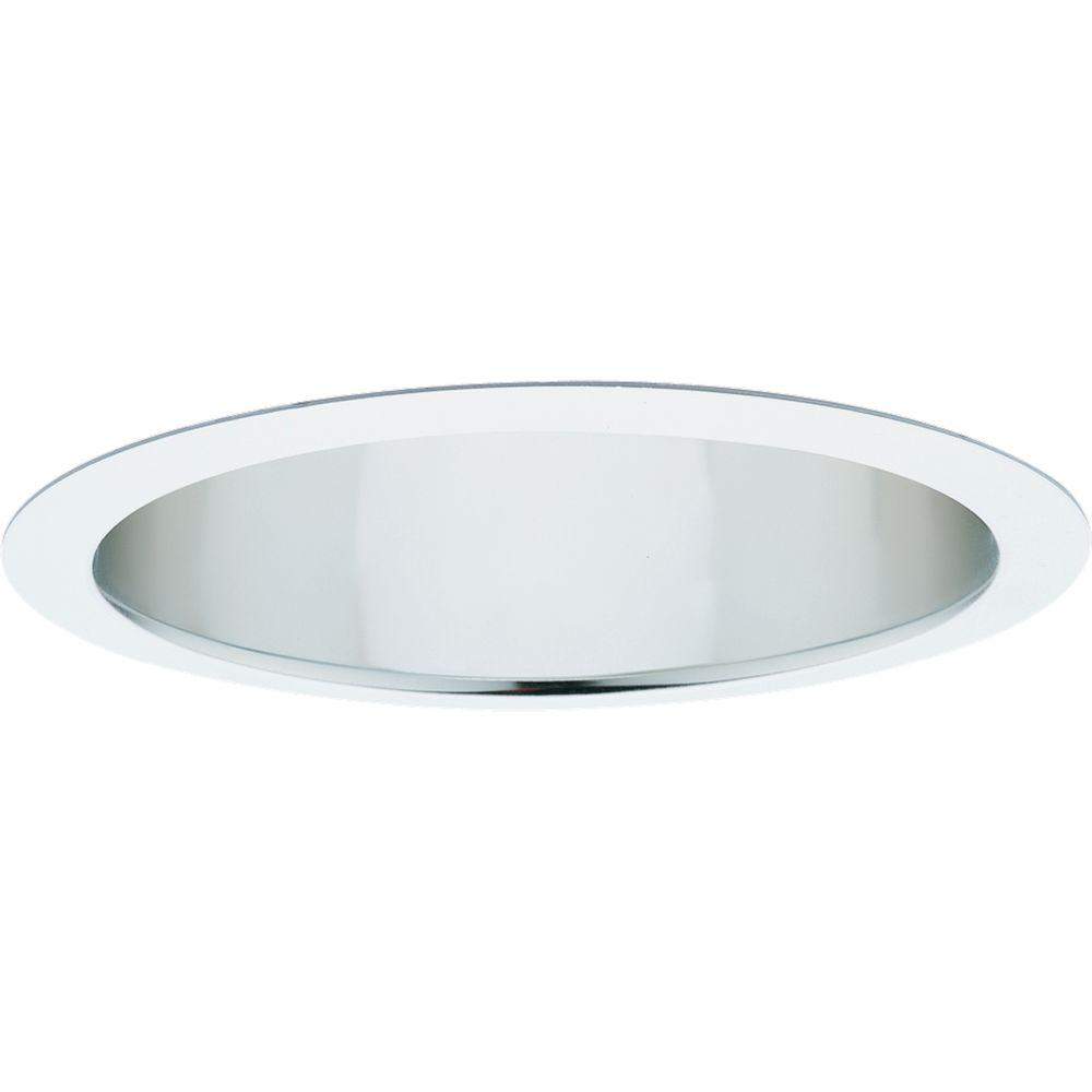 Wonderful Progress Lighting 8 In. Pro Optic Clear Alzak Recessed Wall Washer Trim