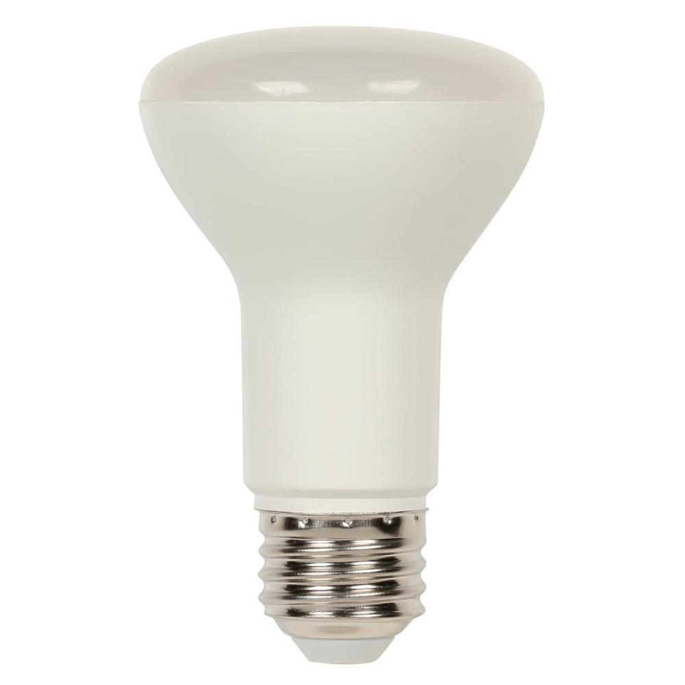 westinghouse 50w equivalent bright white r20 dimmable led light bulb 5316100 the home depot. Black Bedroom Furniture Sets. Home Design Ideas