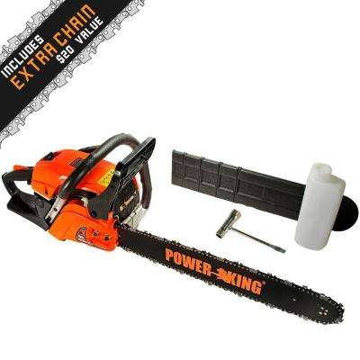 16 in 45cc Gas Chainsaw with Antivibe System