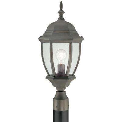 Covington 1-Light Outdoor Painted Bronze Post Lantern
