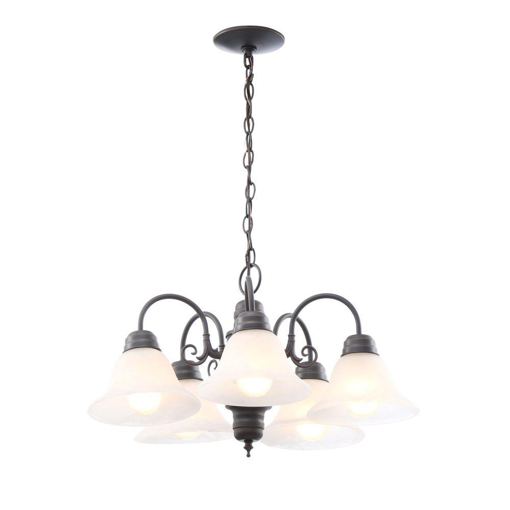 Design House Millbridge 5 Light Oil Rubbed Bronze