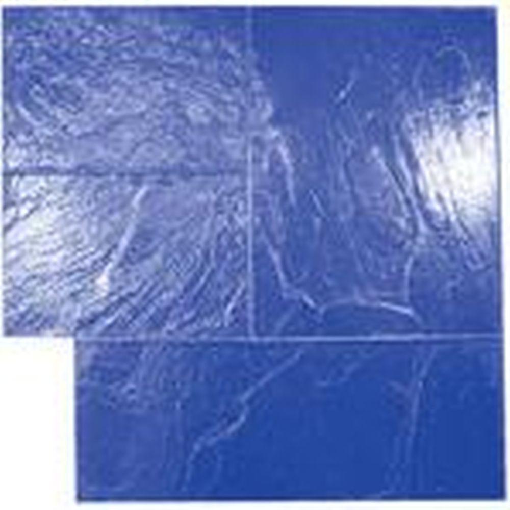 Blue Majetic Ashlar Flex Concrete Stamp