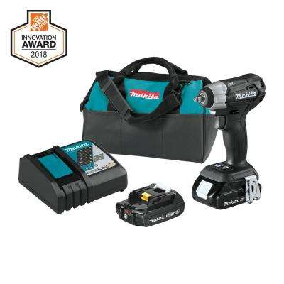 18-Volt LXT Lithium-Ion Sub-Compact Brushless Cordless 3/8 in. Square Drive Impact Wrench Kit
