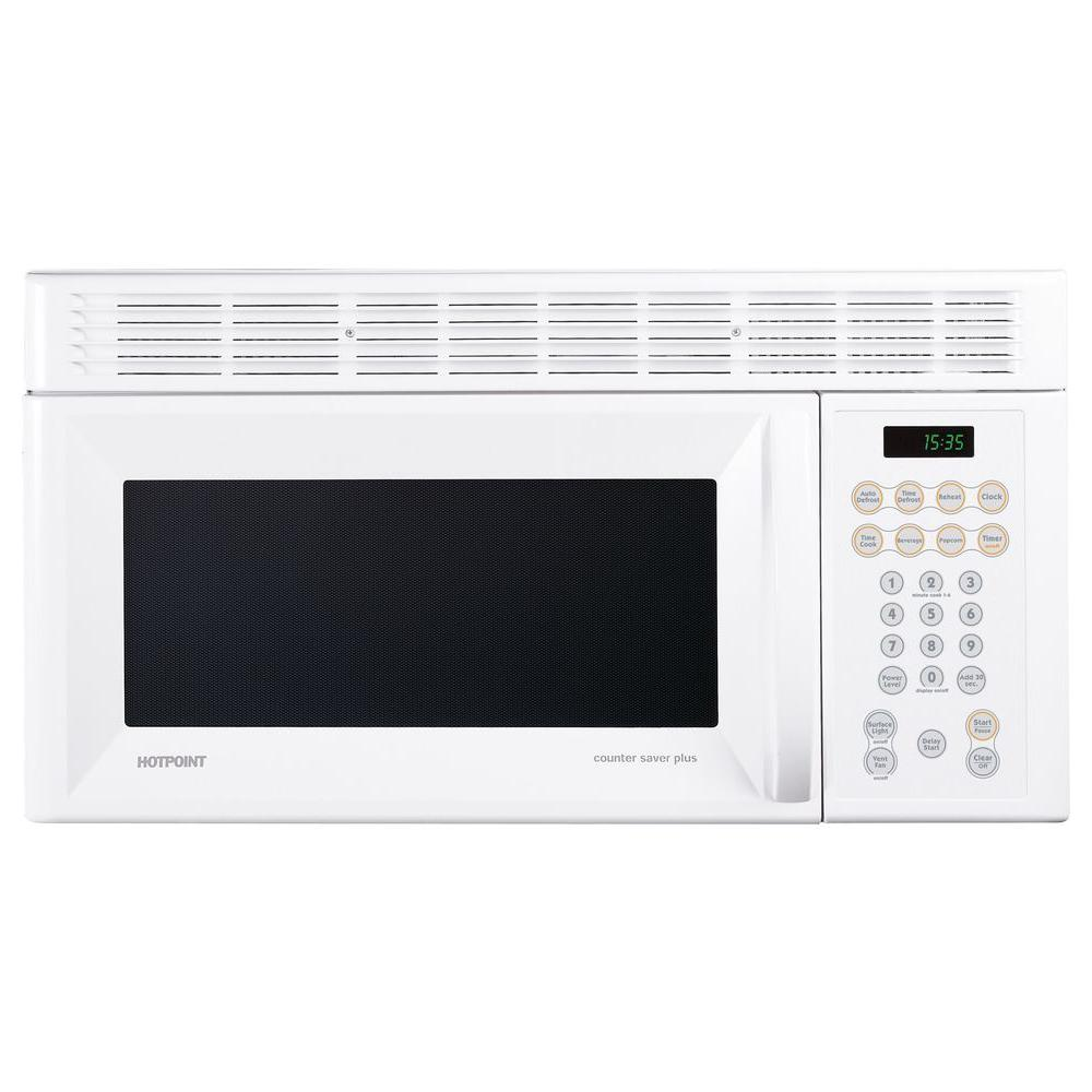 Hotpoint 1.5 cu. ft. Over-the-Range Microwave in White
