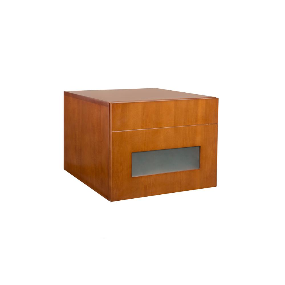 Ronbow Essentials Rebecca 18 in. W Drawer Bank in Cinnamon