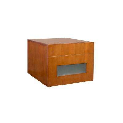 Rebecca 18 in. W Drawer Bank in Cinnamon