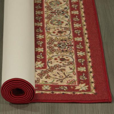 Sweet Home Collection Medallion Design Red 2 ft. x 5 ft. Indoor Runner Rug