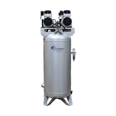 60 Gal. 4.0 HP Ultra-Quiet, Ultra Dry and Oil-Free Electric Stationary Air Compressor with Air Dryer and Auto Drain