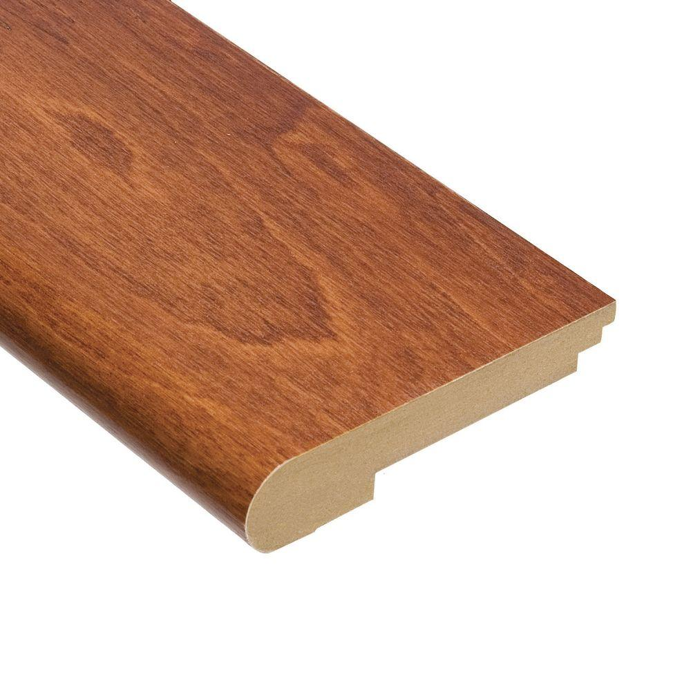 Home Legend Maple Messina 3/4 in. Thick x 3-1/2 in. Wide x 78 in. Length Hardwood Stair Nose Molding