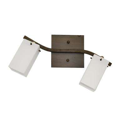 2-Light Oil-Rubbed Bronze Track Lighting Kit