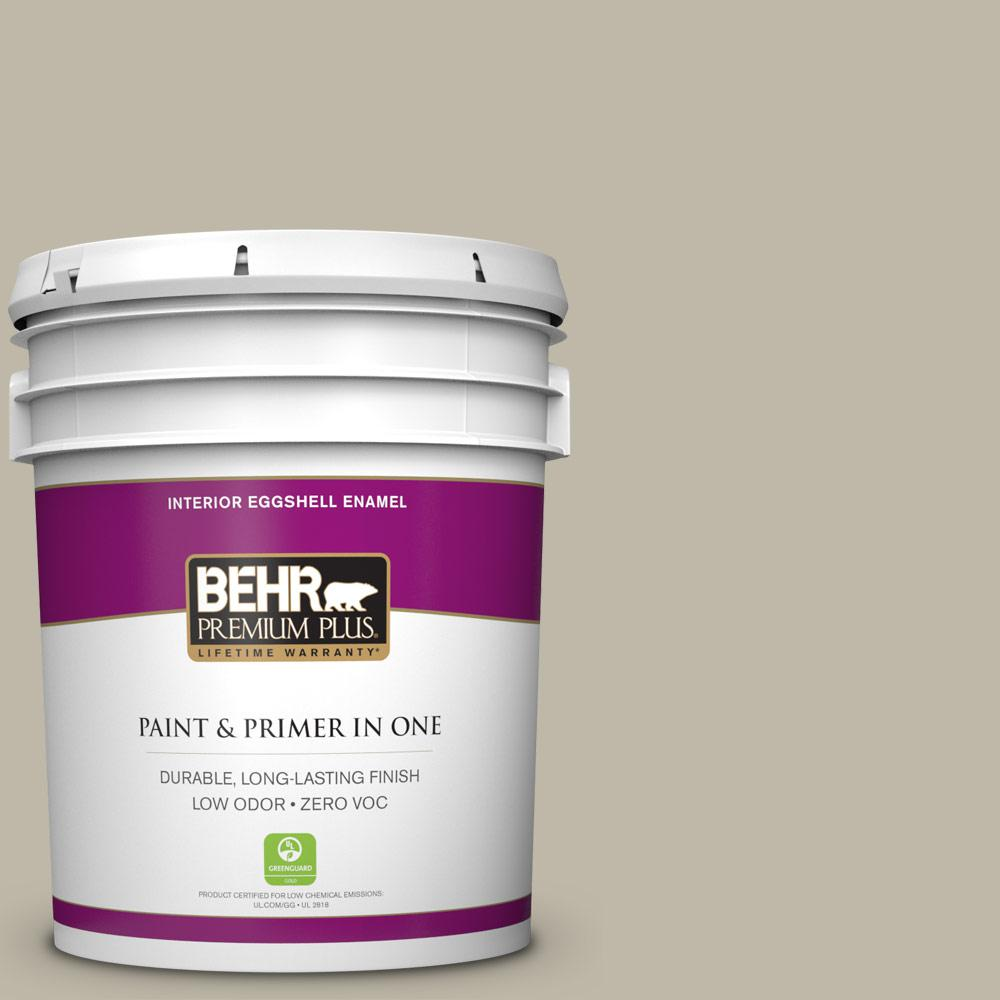 BEHR Premium Plus 5-gal. #BXC-19 Historical Ruins Eggshell Enamel Interior Paint