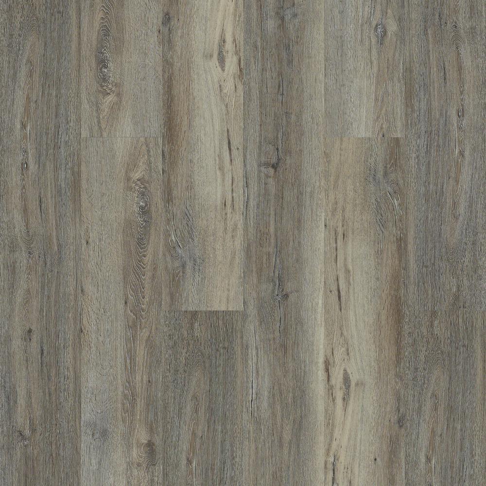 Shaw Melrose Oak Direct Glue 9 inch x 59 inch Barnboard Resilient Vinyl Plank... by Shaw
