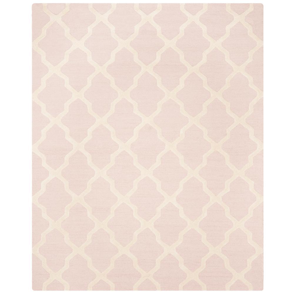 Safavieh Cambridge Light Pink Ivory 9 Ft X 12 Ft Area