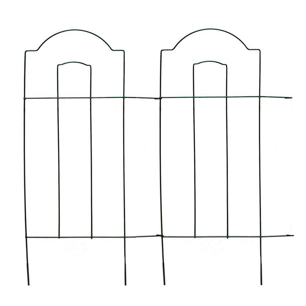 Wire Garden Fence Panels. Wood And Wire Fence, Like For A Garden ...