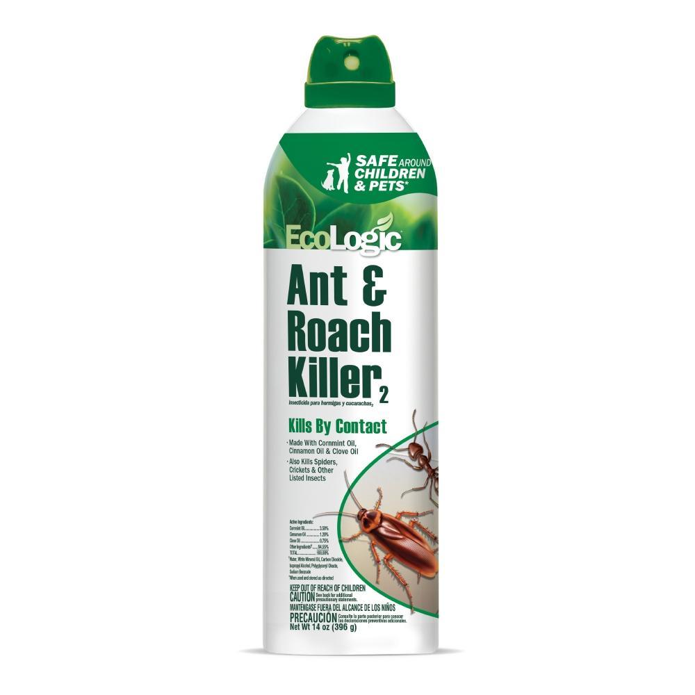 EcoLogic 14 Oz. Aerosol Ant And Roach Killer-HG-75028